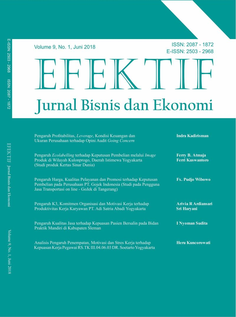 JURNAL EFEKTIF VOL. 9 NO. 1 JUNI 2018